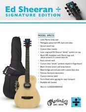 Martin Guitarra lx-ed Sheeran 3 Divide Caoba Acabado EXPOSITOR