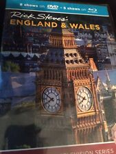 Rick Steves' England & Wales (Blu-ray & DVD) Factory Sealed FREE SHIPPING