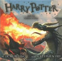 Harry Potter and the Goblet of Fire, CD/Spoken Word by Rowling, J. K.; Fry, S...