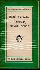 E ADESSO POVER'UOMO? HANS FALLADA 1950 MEDUSA MONDADORI (JA684)