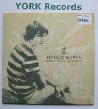 "FINDLAY BROWN - Losing The Will To Survive - Excellent Con 7"" Single Peacefrog"