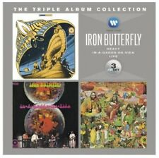 Triple Album Collection - 3 DISC SET - Iron Butterfly (2012, CD NEUF)
