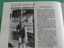 1986 Redlegs Review Norwood Football Club Pyke Gallagher Tanner Pearce Phillips