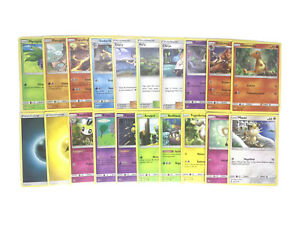 20x Pokémon Karten Nacht in Flammen in Deutsch - Near Mint