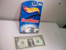 Hot Wheels White Fred Meyer Tail Dragger - 1998
