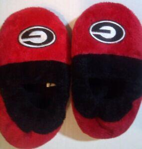 Little Boys/Girls Georgia Bulldogs Slippers Red/Black