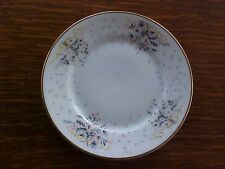 HAVILAND'S PAISLEY,  BREAD DESSERT PLATE PINK & GRAY FLORALS, PATRY-BIE LIMOGES