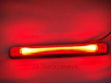 LED UMRISSLEUCHTE - LICHTLEITERTECHNINK MIT 2 LED - ROT - 242 x 28 MM