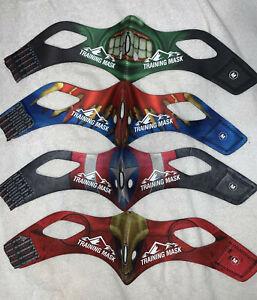 NEW ⚡ 4 Training Mask 2.0 Sleeves ⚡ MEDIUM ⚡ Iron Merica Super Steel Smasher