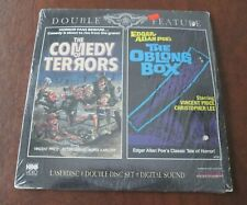 LASERDISC MOVIE ~ COMEDY OF TERRORS THE OBLONG BOX VINCENT PRICE CHRIS LEE