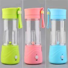 Portable Mini Electric Juice Cup USB Recharging Milkshake Blender Bottle BR