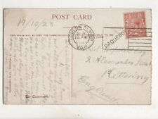 Toulon Sur Mer Paquebot Postmark 1923 442b