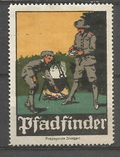 Germany Pfadfinder (Boy Scouts) propaganda stamp/label