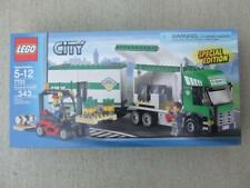 * New * Lego City 7733 Truck & Forklift / Airport / Train 3182/7894/60104/10159
