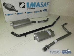 IMASAF Auspuffset komplett für Renault Trafic 2.1D 1980-1986|kurzer Radst. P3200