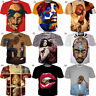 Cool 2PAC Tupac Shakur 3D T-Shirt Hip Hop Rapper Women Men New Tee Short Sleeve