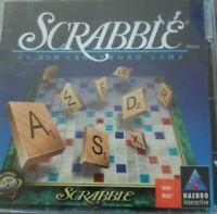 SCRABBLE CD-ROM CROSSWORD GAME - 1996 HASBRO Sealed Brand New!