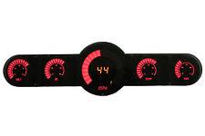 Intellitronix Universal Digital 6 Gauge Universal Analog Bar Graph Panel Red LED