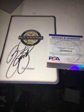 Rickie Fowler The Honda  2016 Winner  Signed PGA National  Scorecard PSA DNA