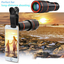 2018Clip-on 12X Optical Zoom HD Telescope Camera Lens for Universal Mobile Phone