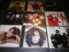 Lot of 9 Rap R&B🔥Hip Hop🔥MUSIC CDS/ALBUMS-(4)Janet Jackson, (2)Xscape + more!