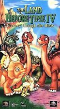 The Land Before Time 4 IV: Journey Through the Mists (VHS, 1996, Clamshell)