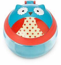 Skip Hop Zoo Stoviglie Set-Gufo per bambini per piatto di Alimentazione Ciotola NUOVO con confezione