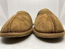 UGGLeisure Suede UGGpure Lined Slide Slipper Size 9 Chestnut MSRP $70