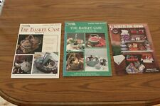 3 Baskets Leaflets Books Lot Case 2 Giving Gifts How To