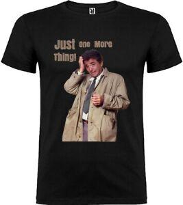 Mens t-shirt MEDIUM Columbo Tv series America Woman Unisex Detective UK Seller