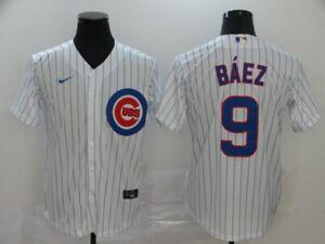 Men's Chicago Cubs Javier Baez Player Jersey