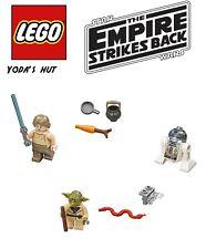 LEGO Star Wars Yoda's Hut mini figs! Yoda, Luke, R2