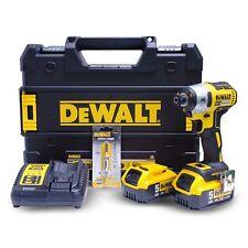 Dewalt DCF887P2A 18V 5.0Ah Cordless Brushless Impact Driver / 220V Charger