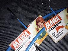 alte rutschfeste MAWA Kleiderbügel 60er 70er Jahre 60s70s hanger clothes vintage