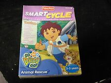 Fisher Price Smart Cycle Go Diego Go Animal Rescue Electronic Learning NIB