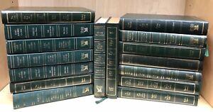 Readers Digest Green Condensed Books Hardback Decorative Linear Half Metre 50cm
