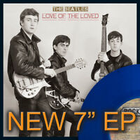 """The Beatles, LOVE OF THE LOVED EP, Limited Edition 7"""" Blue Vinyl, Numbered, 7""""EP"""