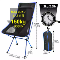 Folding Chair Outdoor Portable BBQ Table Travel Seat Fishing Stool Camping Chair