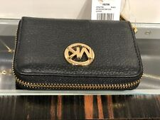 c4cc2cb0a6e9b5 Michael Kors Fulton Leather Zip Around Coin Purse Card Case Mini Wallet  Various