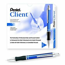 Pentel Client Automatic Pencil, 0.5mm, Blue Barrel, Box of 12 (AL905C)