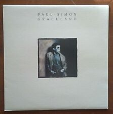 (PAUL SIMON-Graceland)-among best & most popular songwriters of rock era- F7-LP
