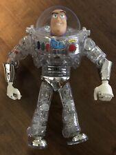 Interstellar Clear Talking Buzz Lightyear Toy Story Movie Figure Disney Pixar