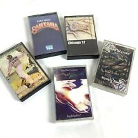 Rock Cassette Lot Chicago Santana Elton John Paul McCartney Drivn N Cryin