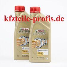 Original CASTROL EDGE SAE 5W-30 LL TITANIUM FST 2X 1l = 2 Liter Motoröl Öl