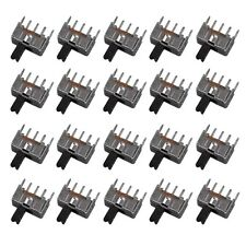20pcs Mini Slide Switch SPDT 2.0mm Pitch 2 Tap Position 3Pin U