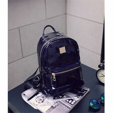 Hologram Backpack Large Bags School Bag Travel PU Rucksack Travel Bag Backpack