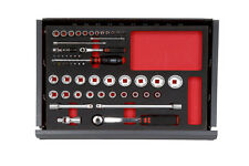 WURTH ZEBRA Gen 1⁄4 Inch + 1⁄2 pollici SOCKET WRENCH Assortimento toolsystem 56 PC