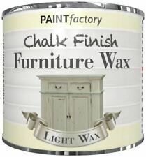 1 x Light Wax  Chalk Finish Furniture Paint Lacquer Smooth Touch Finish 200ml