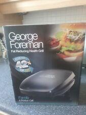 George Foreman quattro parte della famiglia del cibo sano ANTIADERENTE GRILL Machine 18471
