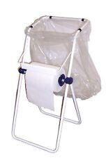 Imperdibile portarotolo bobina carta con porta sacco sacchetti busta spazzatura